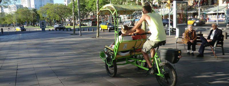 pedicab Passeig Marítim