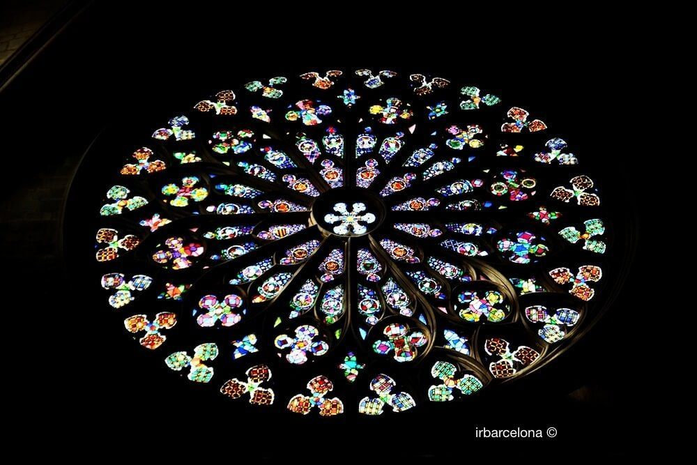 Rose Window Santa Maria del Pi