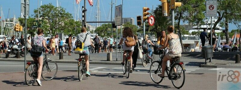Guided bike tours in Barcelona