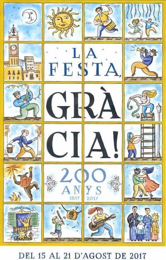 Festa Gràcia 2017 poster