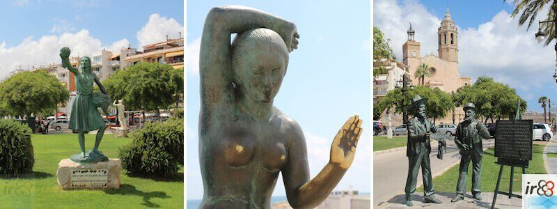 statues and sculptures of Sitges