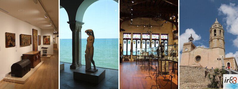 Museums, monuments and churches in Sitges