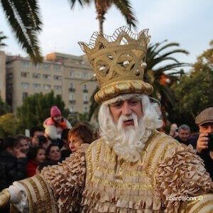 Three Kings day in Barcelona