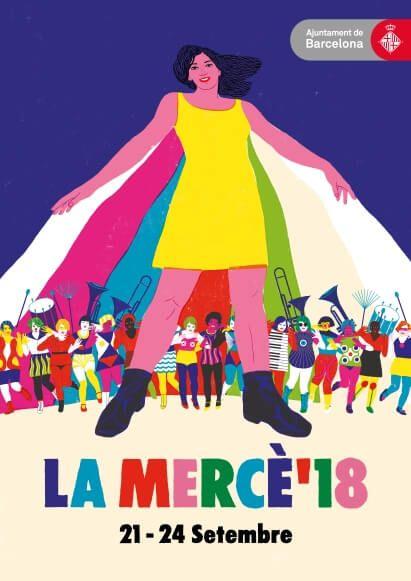 La Mercè 2018 poster