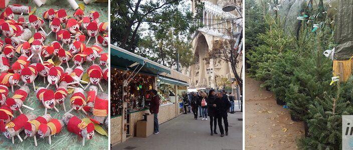 Sagrada Familia Christmas Market