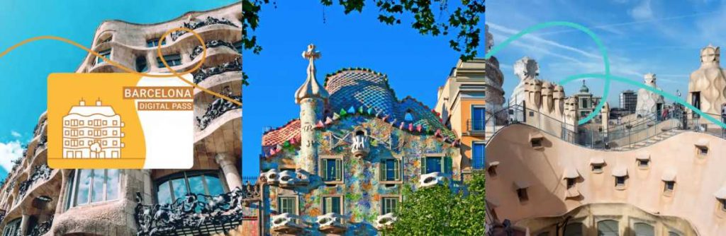 3 Gaudí houses Barcelona combo tickets