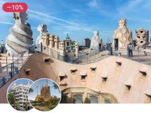 Casa Milà + Sagrada Familia combined tickets